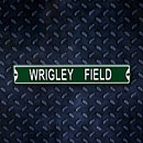 Wrigley Field Street Sign Steel Magnet