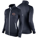 Chicago Bears Ladies Stadium Classic Full-Zip Track Jacket