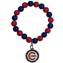 Chicago Cubs Fan Bead Bracelet