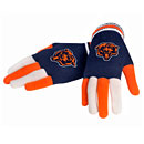 Chicago Bears Multi-Color Knit Gloves