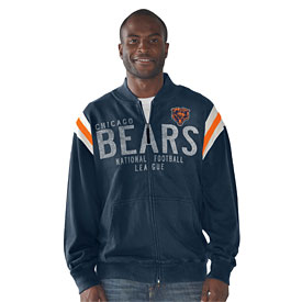 Chicago Bears Hand Off Track Jacket