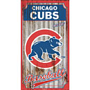 Chicago Cubs Corrugated Metal Wall Art