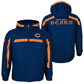 Chicago Bears Preschool Midweight Hooded Jacket
