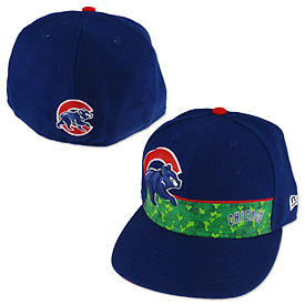 Chicago Cubs Royal Back Wall 5950 Cap