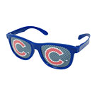 Chicago Cubs Blue Printed Glasses