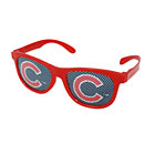 Chicago Cubs Red Printed Glasses