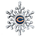 Chicago Bears Snowflake Ornament