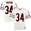 Chicago Bears Walter Payton 1985 Road Replica Jersey
