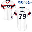 Chicago White Sox Jose Abreu Authentic Alternate Home Cool Base Jersey