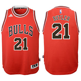 Chicago Bulls Jimmy Butler Youth Red Swingman Jersey