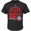 Chicago Cubs 2015 NL Division Series Winner Youth Clubhouse T-Shirt