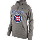 Chicago Cubs Ladies Let's Go Performance Hooded Sweatshirt