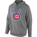 Chicago Cubs Let's Go Performance Hooded Sweatshirt