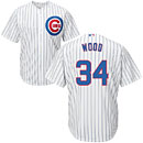 Chicago Cubs Kerry Wood Home Cool Base Replica Jersey