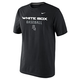 Chicago White Sox Black Practice T-Shirt
