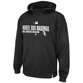 Chicago White Sox Authentic Collection Black Team Favorite Hooded Sweatshirt