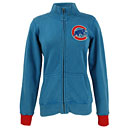 Chicago Cubs Ladies French Terry Track Jacket