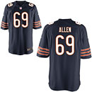 Chicago Bears Jared Allen Game Team Color Jersey