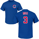 Chicago Cubs David Ross Youth Name and Number T-Shirt