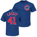 Chicago Cubs John Lackey Youth Name and Number T-Shirt