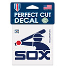 "Chicago White Sox Cooperstown 4"" x 4"" Die-Cut Decal"