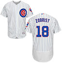 Chicago Cubs Ben Zobrist Home Flexbase Authentic Collection Jersey