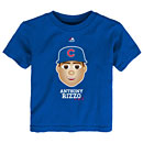 Chicago Cubs Anthony Rizzo Toddler Emoji T-Shirt