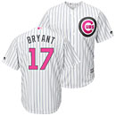 Chicago Cubs Kris Bryant 2016 Mother's Day Cool Base Replica Jersey
