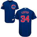 Chicago Cubs Jon Lester Flexbase Alternate Authentic Collection Jersey