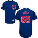 Chicago Cubs Jorge Soler Flexbase Alternate Authentic Collection Jersey