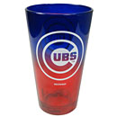 Chicago Cubs Ombre Pint Glass