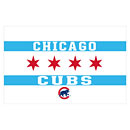 Chicago Cubs Chicago Flag 3 x 5 Flag