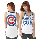 Chicago Cubs Ladies Opening Day Mesh Tank Top
