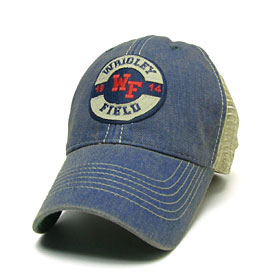 Wrigley Field Token Trucker Adjustable Cap