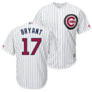 Chicago Cubs Kris Bryant 2016 Stars and Stripes Cool Base Replica Jersey