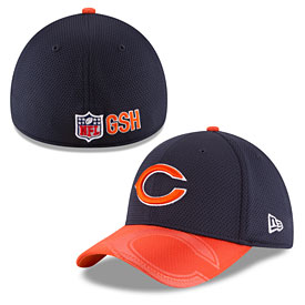 Chicago Bears 2016 Sideline Official C Logo 39THIRTY Flex Fit Cap