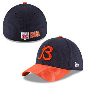 Chicago Bears 2016 Sideline Official B Logo 39THIRTY Flex Fit Cap
