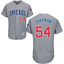 Chicago Cubs Aroldis Chapman Road Flexbase Authentic Collection Jersey