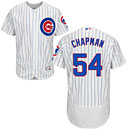 Chicago Cubs Aroldis Chapman Home Flexbase Authentic Collection Jersey
