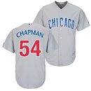 Chicago Cubs Aroldis Chapman Road Cool Base Replica Jersey