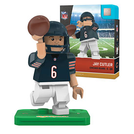 Chicago Bears Jay Cutler OYO Sports Minifigure