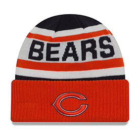 Chicago Bears Youth Biggest Fan 2.0 Knit Hat