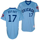 Chicago Cubs Kris Bryant 1981 Throwback Authentic Jersey