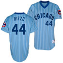 Chicago Cubs Anthony Rizzo 1981 Throwback Authentic Jersey