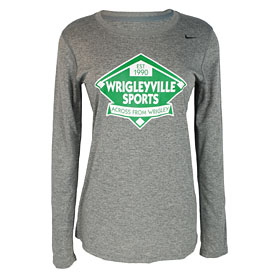 Wrigleyville Sports Ladies Dri-FIT Long Sleeve T-Shirt