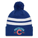 Chicago Cubs 2016 Postseason Knit Hat with Pom