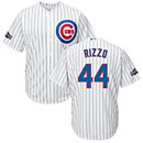 Chicago Cubs Anthony Rizzo Home Cool Base Replica Jersey w/ 2016 Postseason Patch