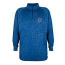 Chicago Cubs Royal Performance 1/4 Zip Jacket