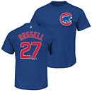Chicago Cubs Addison Russell Youth Name and Number T-Shirt