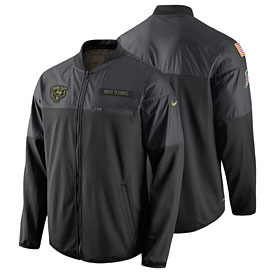 Chicago Bears Salute to Service Hybrid Performance Jacket